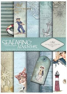 Scrapbooking papers SCRAP-047 ''Seafaring adventure''