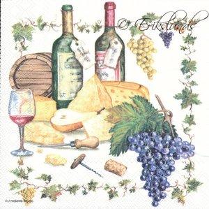 Vin och ostbricka