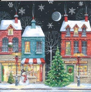 Småstad i juletid   sej2098