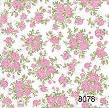 Rosa små rosor  8078
