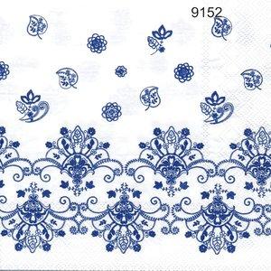 Blå spets   9152