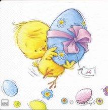 Kyckling och påskägg