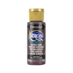 American Acryl färg Black Plum 59ml  DA172