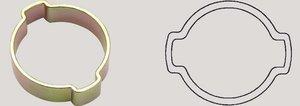 2-ear hose clip 13-15mm Oetiker