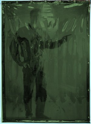 Welding curtain 1800x1400mm GR-6