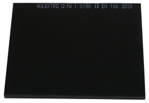 Welding glass Aulektro® 110x90mm 12-din