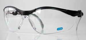 Safety glasses UV-2019-R W. magnifying window +2,0