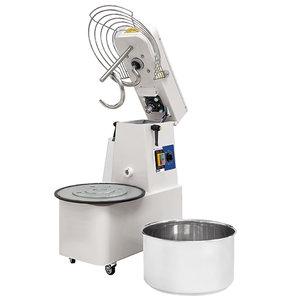 Degblandare med fast kittel, 42kg/48 Liter, 1 hastighet med timer och avtagbar skål