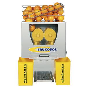 Elektrisk juicemaskin 20-25 apelsiner/minut, 85mm