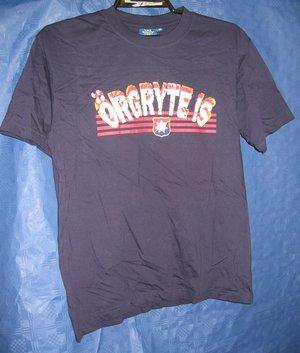 """T-shirt blå """"Örgryte IS"""""""