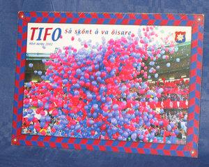 Vykort Tifo 2002 (alt 1) 105*145 mm