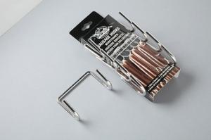 Korvkrokar för rökning