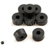 Gummibricka 6,3 mm för kydexmontage 10-pack