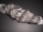 Indigo Fox Tail