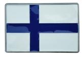 Bältesspänne Finsk flagga