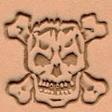 3D Puns - Skalle 8359