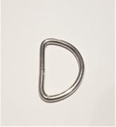 25-pack D-ring 15 mm - Nickel