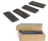Arkansas Multiform Slipstones, 4-Piece Set, Black