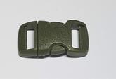 Snäpplås Army Green 10 mm
