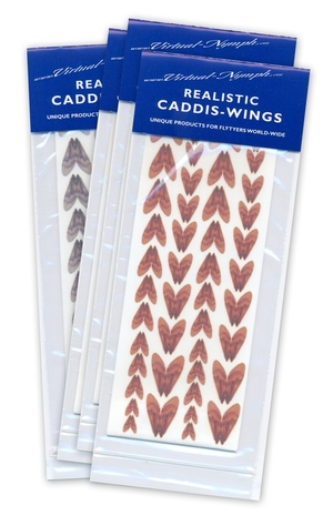 Realistic Caddis Wings