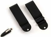 Belt clip Model 1 - Svart