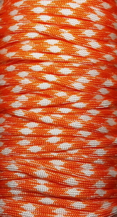 Paracord Orange/vit