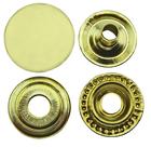 Tryckknapp 15 mm Mässing 10-pack