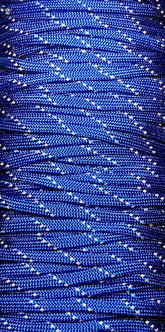 Paracord Reflective Blue