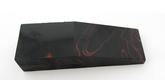 Akryl block Red in Black