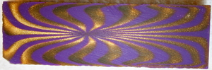 Polyester Purple Gold