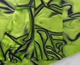 Kirinite block Toxic green