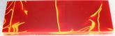 Akryl skala röd/gul
