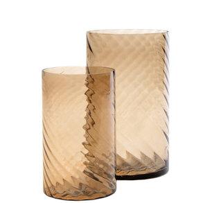 Sandy Wave Vase Bleige M / L