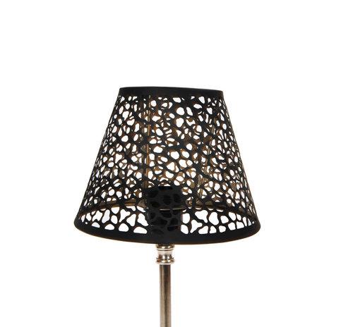 Lampshade Golden Black S