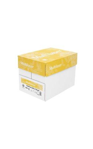 Kopieringspapper MultiLaser Hålat 80g vitt A4