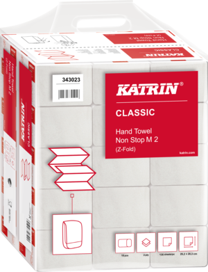 Katrin Classic Hand Towel Non Stop M2, Handy Pack