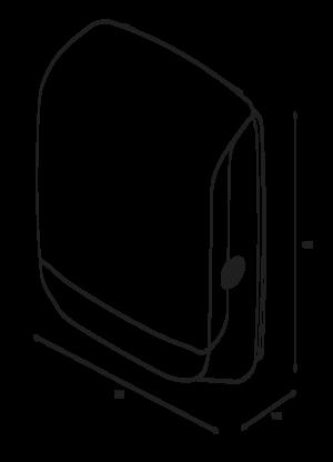 Katrin Inclusive Hand Towel M Dispenser - White