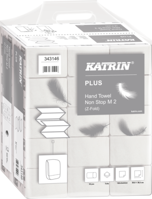 Katrin Plus Hand Towel Non Stop M2, Handy Pack