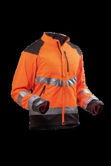 Jacka Ventilation Orange EN 20471
