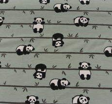 dovgrön botten med pandor