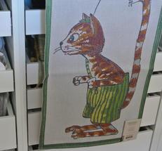 Katten Findus  från Ekelunds väveri