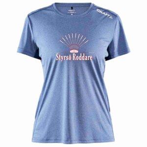 T-shirt Craft Rush Styrsö Roddare, ljusblå melerad