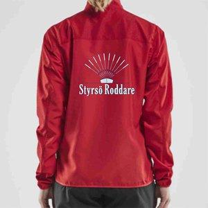Styrsö Roddare Craft Rush träningsjacka, röd
