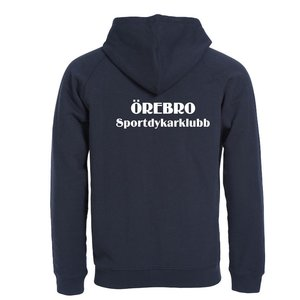 Hoodjacka Classic Full Zip Örebro Sportdykarklubb