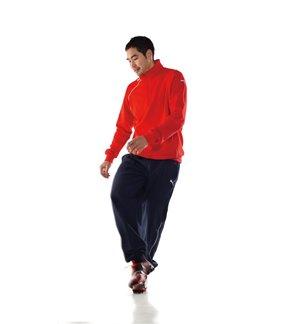 Joggingoverall Puma Foundation, röd/svart