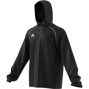 Regnjacka Adidas Core 18, unisex, svart