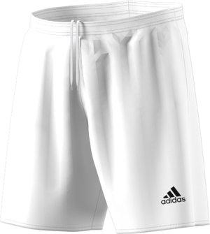 Shorts Adidas Parma 16 med innerbyxa, vit