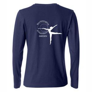 T-shirt Basic lång ärm, Bjuv/Helsingborg Drill, dam