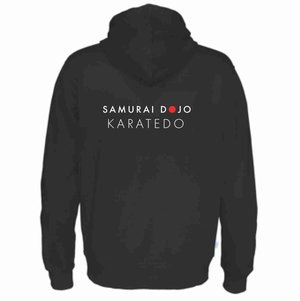 Hoody Cottover Samurai Dojo, junior, svart
