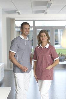 Melange stretch - Unisex skjorta